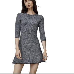 Sunday Best Heathered Grey Tolle Dress